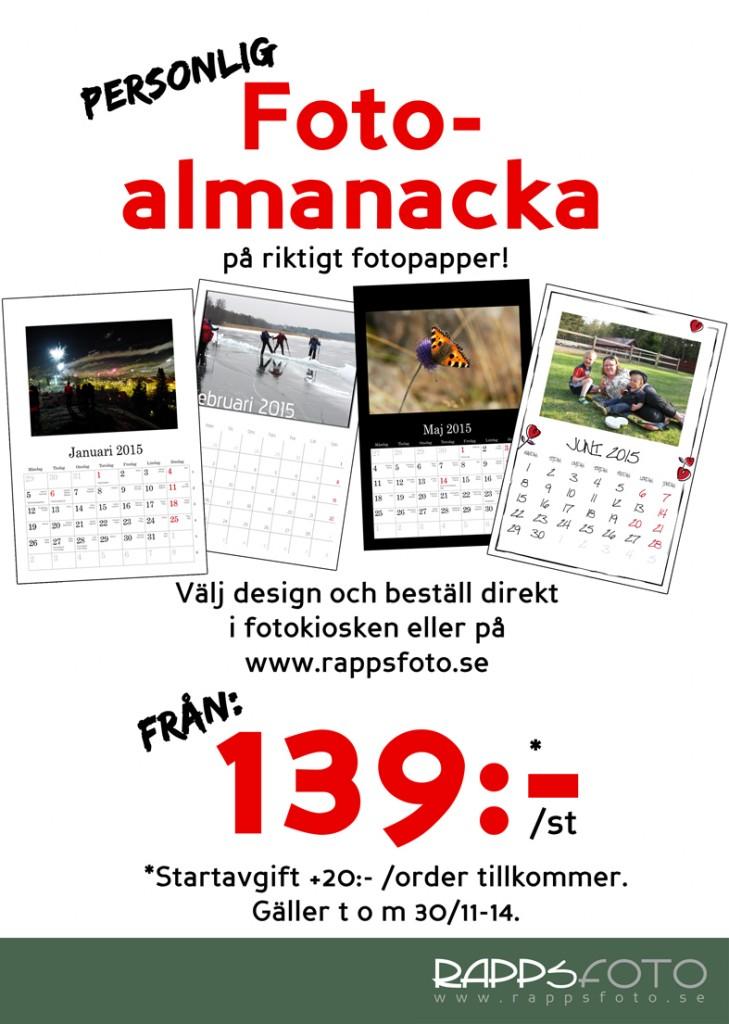 Almanacka 139 10x15storlek
