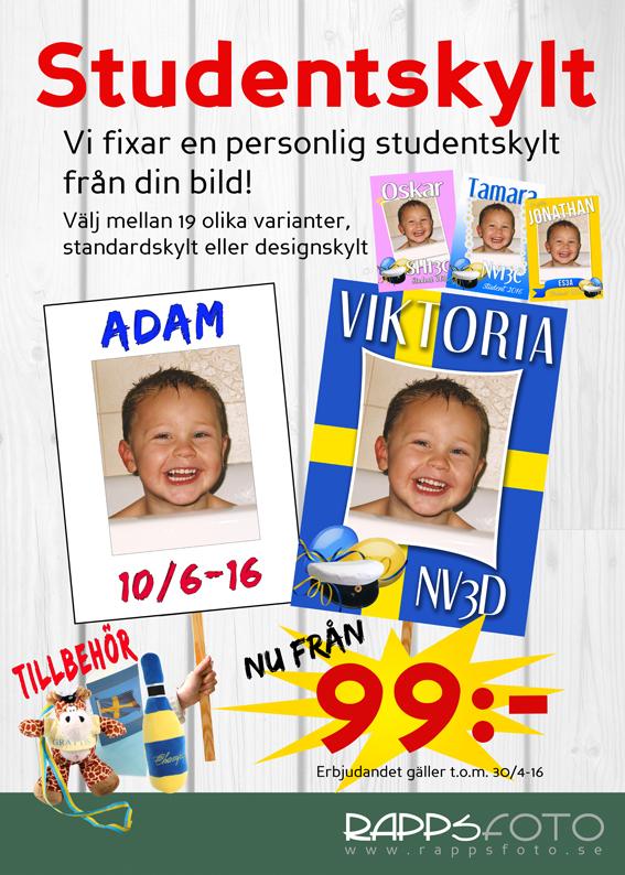 Affisch studentskyltar LKPG 50x70 2016 kopiera